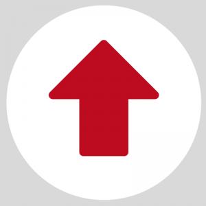 Flecha Roja Circular- Rutas