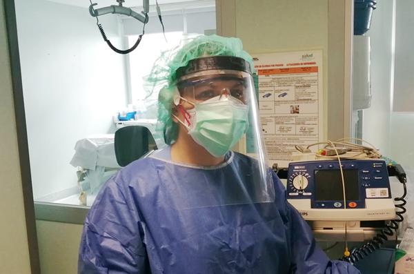 Pantalla protección facial Implaser