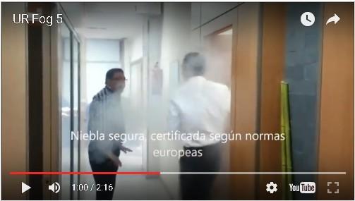 Video Demo Generadores De Niebla