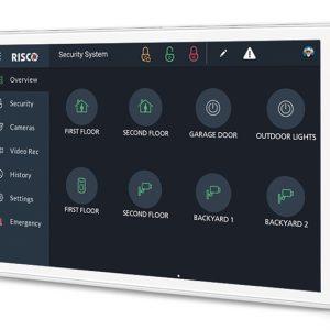RP432KPT Teclado Riscontrol con pantalla táctil para LightSYS y Prosys Plus