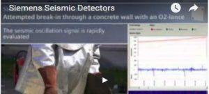 Sísmicos. Detección de ataque con lanza térmica.